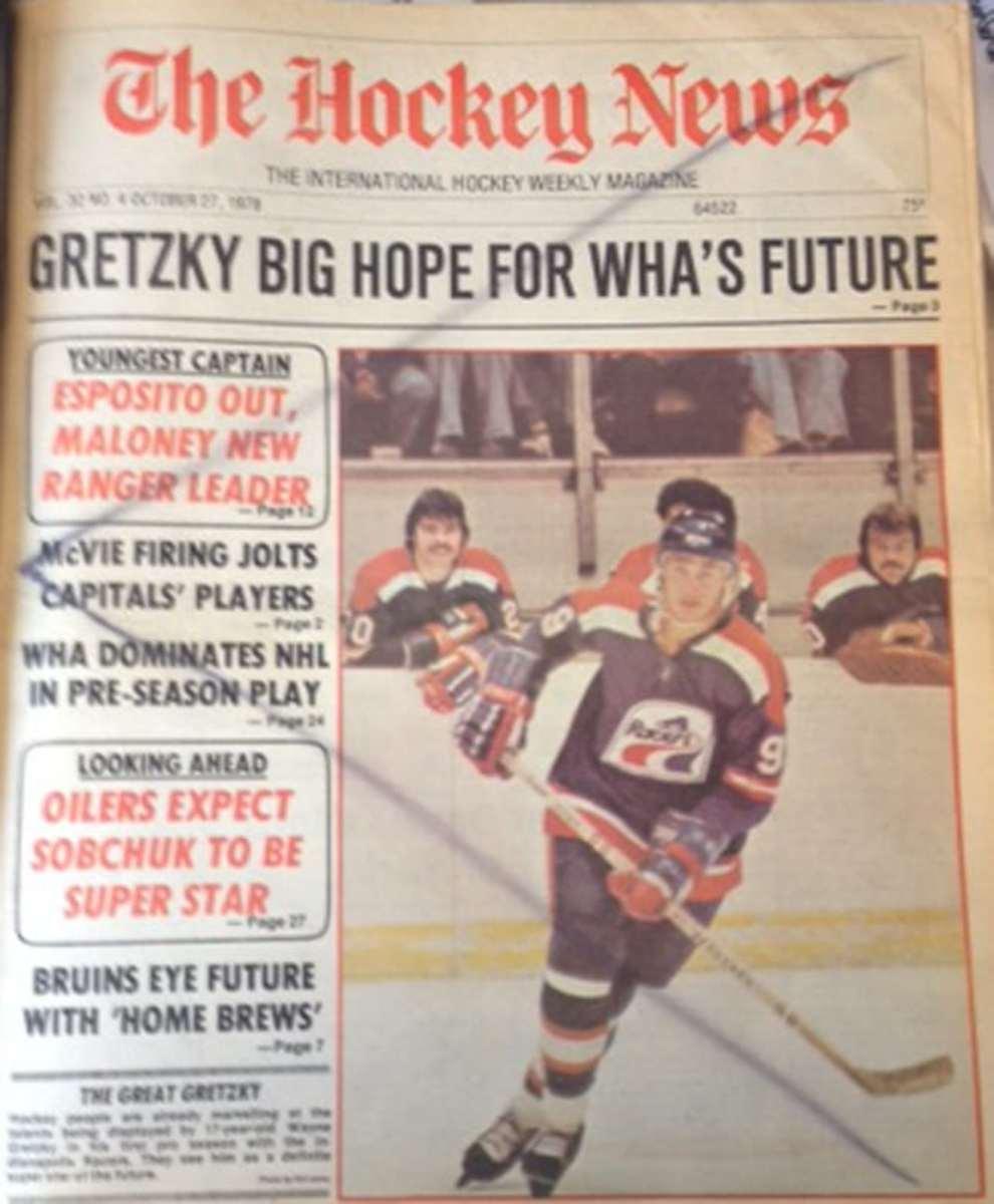 Wayne Gretzky cover